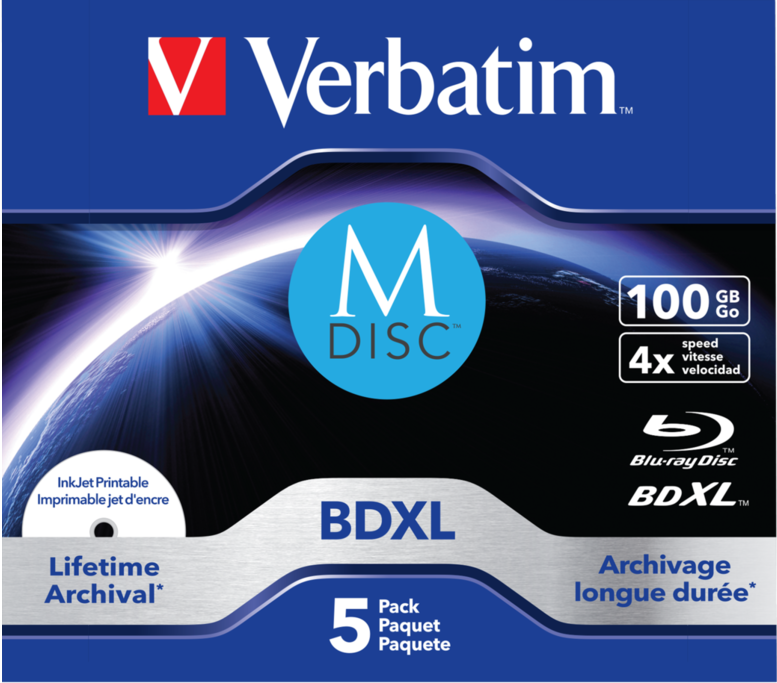 Verbatim MDISC 100 GB Blu-ray Disc